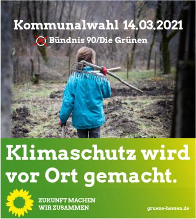 Klimaschutz Kommunalwahl 2021