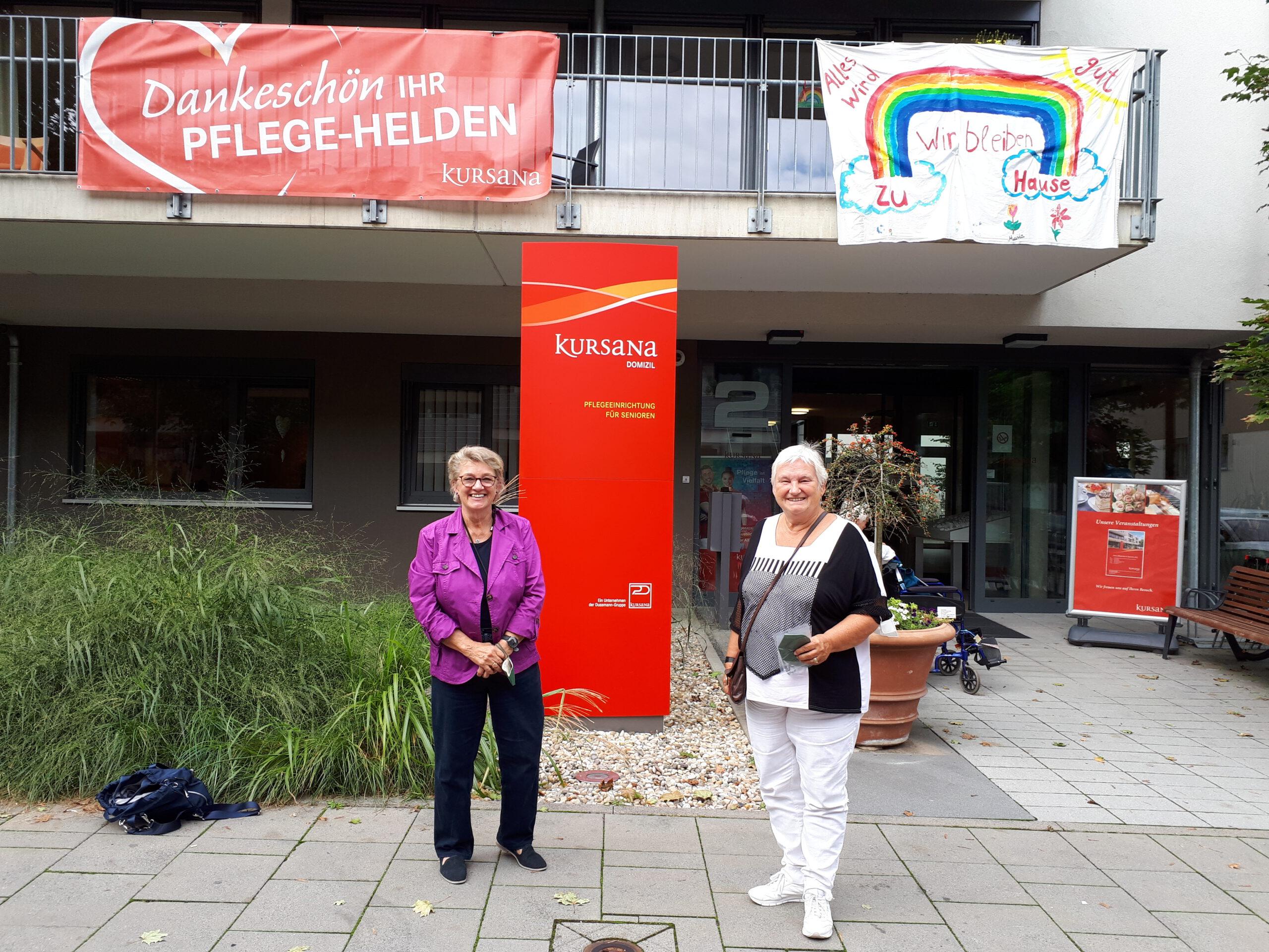 Bundestagsabgeordnete zu Besuch im Kursana Kriftel
